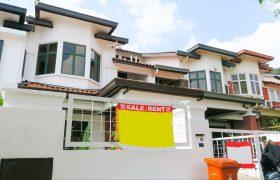 For Sale : 2 Storey Terrace House , Tropicana Indah Resort Home , Kota Damansara
