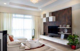 Setapak + Partly furnished new condo