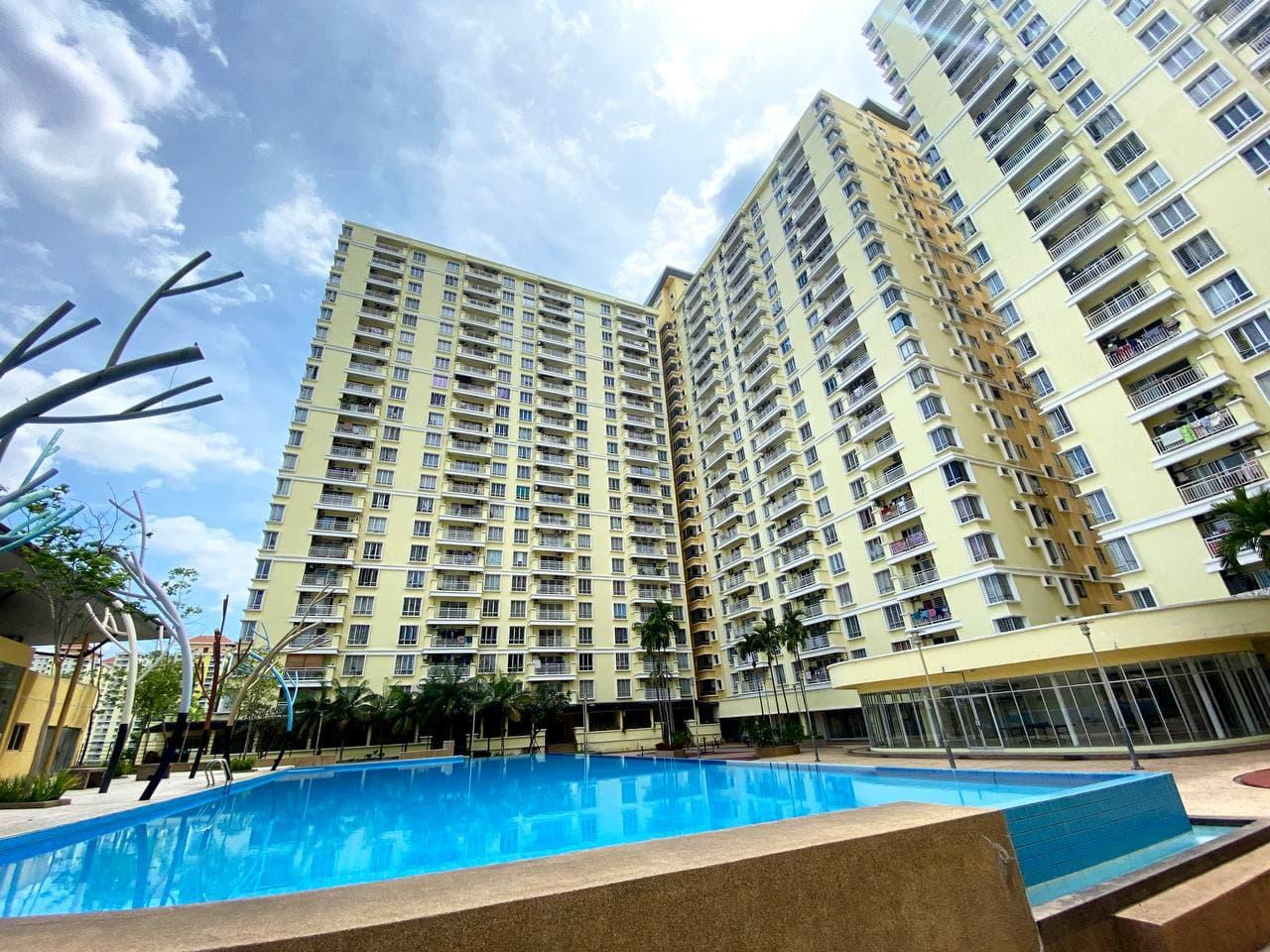 [Condo luas 1,207 sq. ft.] PV12 Condominium, Danau Kota, KL