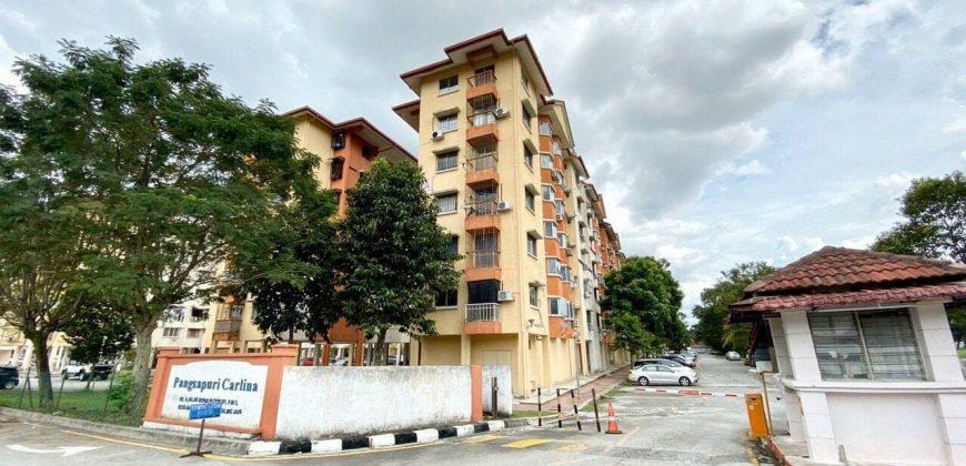 Pangsapuri Carlina, Kota Damansara Selangor.