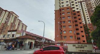 Sri Dahlia Apartment Taman Sepakat Indah 2, Kajang Selangor.