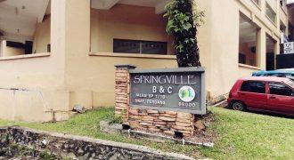 Springville Apartment @ Ukay Perdana Ampang, Selangor.