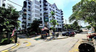 The Palladium Condominium Jalan Gurney 2, Kuala Lumpur.