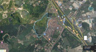 TANAH UNTUK DIJUAL DI SIMPANG PULAI @ GOPENG , PERAK. TANAH TEPI HIGHWAY IPOH-KL