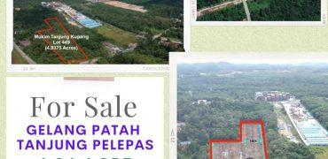 COMMERCIAL LAND FOR SALE GELANG PATAH TANJUNG PELEPAS